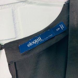 Eloquii Tops - Eloquii career blouse shell tank black Limited 22W